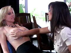 lisa ann, julia ann,  jerking