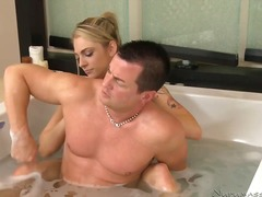 blonde, compilation, massage, oral,