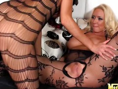 Two hot fetish lovers Molly Cavalli