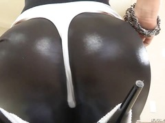 Kristina Rose is demonstrating her sp...