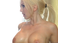 Gorgeous golden haired barby doll Christie