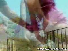 Mix of Hardcore Sex vids from Gangbanged Babes