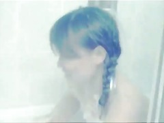 bathtub, pigtails