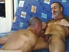 mature, condom, anal, gay, toy, oral