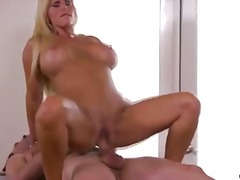 Milf gets cumshot acro... video