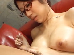 cumshot, cum-in-mouth, busty