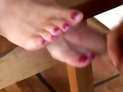 Naughty foot fetish sc...