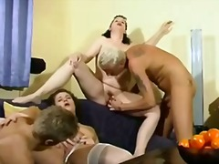 oral, gangbang, sucking, toy, group, milf
