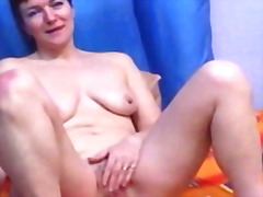 Busty milf masturbating webcam