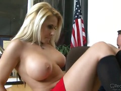 madison ivy,  blonde, cumshot, milf