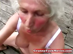 toys, granny, older, outdoors,