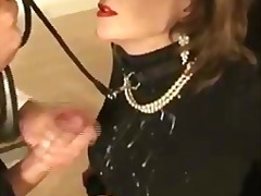 Mature british slut tied up blowjob c...