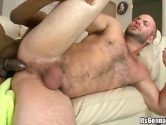Yobt TV Movie:Horny interracial gay pair ass...