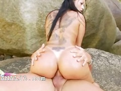 outdoor, anal, outdoors, brunettes,