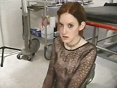 Xhamster Movie:Small tits hottie in nylons ge...