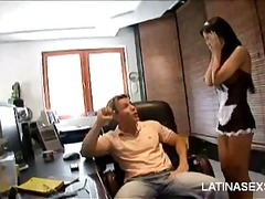 Cock Slurping Latina video