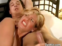 Hot MILF blonde and two ha... - 18:26