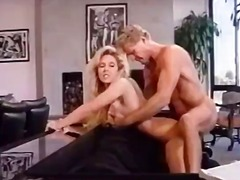 Lewd bombshell together with big tits get laid
