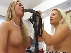 girl-on-girl, anal, strapon,