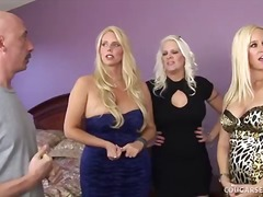 Platinum Blond Trio of...