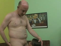 Mature Tutor Gets A Blowjob From Young Whore