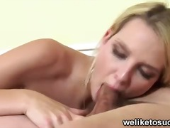 Blonde girlfriend giving b... - 05:09