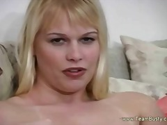 Blonde Played And Cum ...
