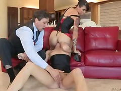 Dana Vespoli and another sexy babe