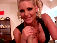 blonde, compilation, handjob,