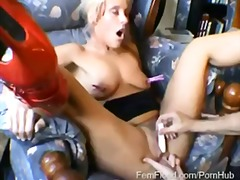 Huge Labia Crystel Loves Nipple Pegs ...