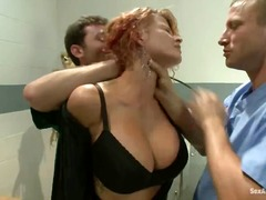 Joslyn James is treate...