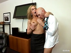 milf, school, boobs, licking, blonde,