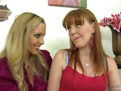 Couple of beautiful lesbians Julia Ann