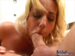 tits, milf, blonde, pussy, suck,