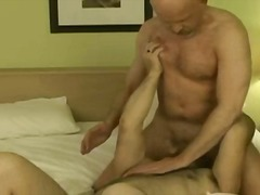 fingering, blowjob, mature, rimming