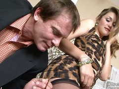 allie haze,  blowjob, college, mouth
