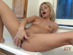 blonde, fantasy, jerking, mature
