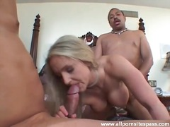 cuckold, threesome, interracial,