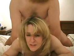 facial, big, blonde, mouth, homemade