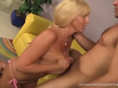 hardcore, blowjob, blonde, facial,