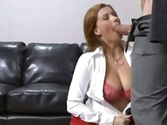 See: Horny office whore Sar...