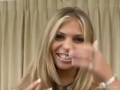 masturbating, masturbation, blonde, toy, fingering