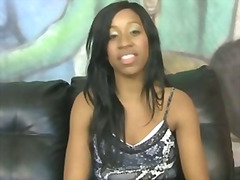 Extreme interracial sex with black teen ge...