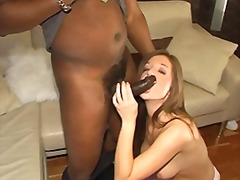stocking, interracial, threesome,
