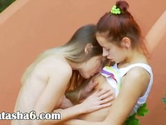 DrTuber Movie:Romantic lesbo adventure from usa