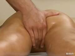 diamond foxxx,  brunette, handjob