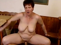 Thick mature mom with ...