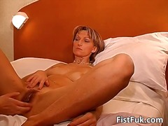 Amazing slut get hardly fingered part6