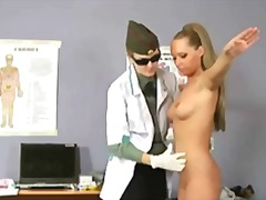 Tube8 Movie:Hot busty girl during gyno exam