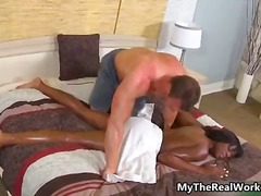 DrTuber Movie:Sexy ebony babe gets her hot n...